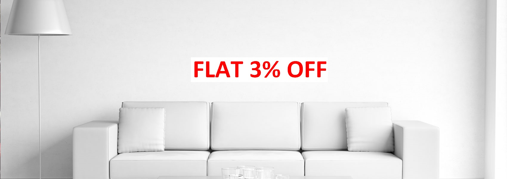 Flat 3% off inoday.in